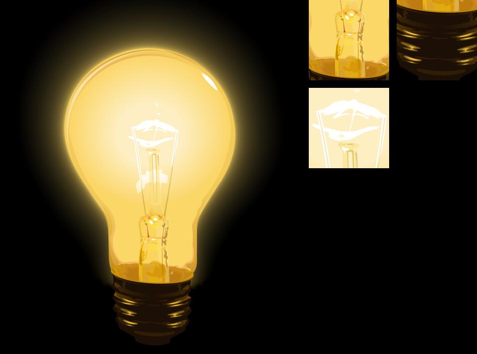 Лампа рисунок